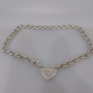 Tiffany Heart Choker Necklace